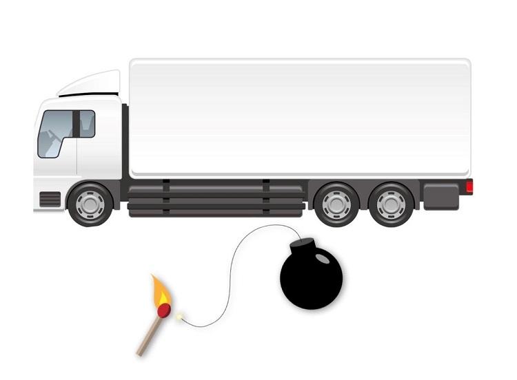 Nye regler om vanvidsbilisme er en tikkende bombe under vognmændene